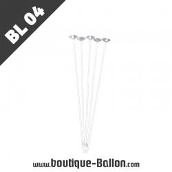 BL04 Tige Ballon Cup XL Blanc