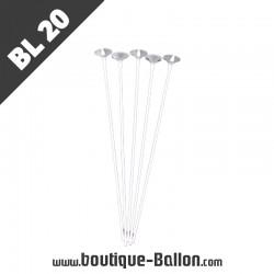 BL20 Tige ballon Cup XXL Blanc