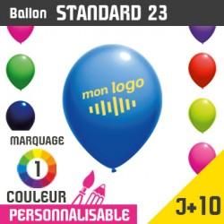 Ballon Standard 23 J+10 - Marquage 1 Couleur