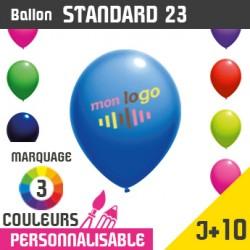 Ballon Standard 23 J+10 - Marquage 3 Couleurs