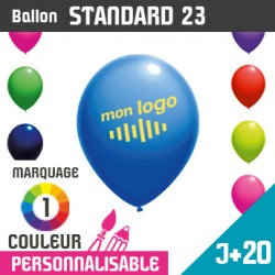 Ballon Standard 23 J+20 - Marquage 1 Couleur