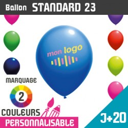 Ballon Standard 23 J+20 - Marquage 2 Couleurs