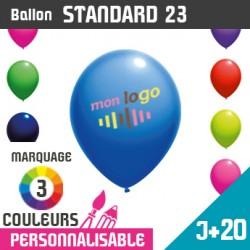 Ballon Standard 23 J+20 - Marquage 3 Couleurs