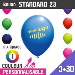 Ballon Standard 23 J+30 - Marquage 1 Couleur