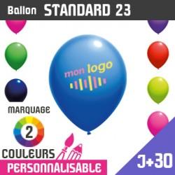 Ballon Standard 23 J+30 - Marquage 2 Couleurs
