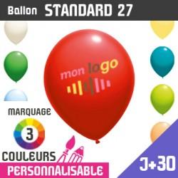 Ballon Standard 27 J+30 - Marquage 3 Couleurs