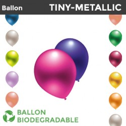 Mini Ballon TINY-METALLIC