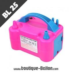 BL25 Gonfleur à Ballon Electrique - ElectricPink