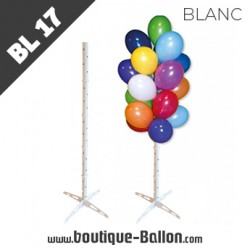 BL17 Arbre à Ballons Blanc