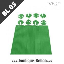 BL05 Tige Ballon Cup L Verte