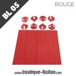 BL05 Tige Ballon Cup L Rouge