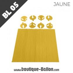 BL05 Tige Ballon Cup L Jaune