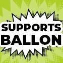 Supports Ballon