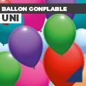 Ballon gonflable uni