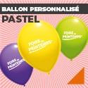 Ballon personnalisé Pastel