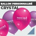 Ballon personnalisé Crystal