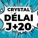 Ballon Personnalisé Crystal J+20