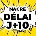 Ballon Personnalisé Nacré J+10