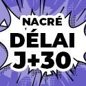Ballon Personnalisé Nacré J+30
