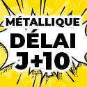 Ballon Personnalisé Métallique J+10