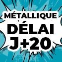 Ballon Personnalisé Métallique J+20