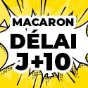 Ballon Personnalisé Macaron J+10
