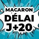 Ballon Personnalisé Macaron J+20