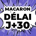 Ballon Personnalisé Macaron J+30