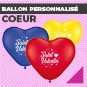 Ballon Personnalisé Coeur