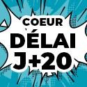 Ballon Personnalisé Coeur J+20