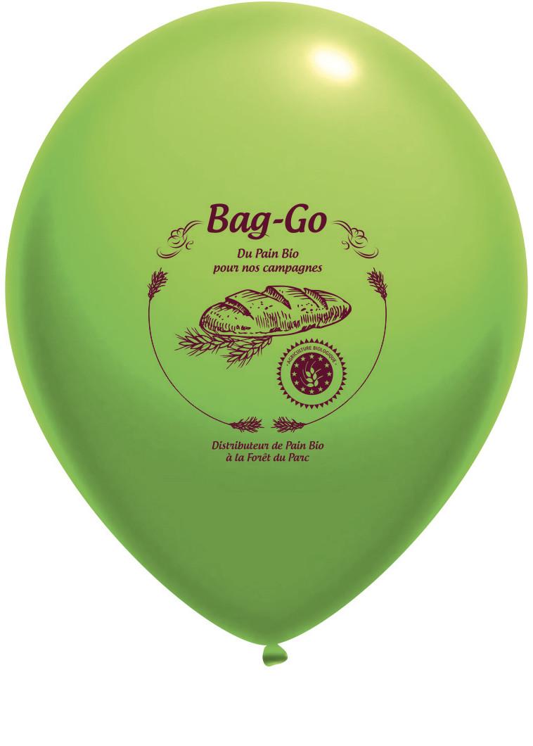 Ballon de baudruche avec logo
