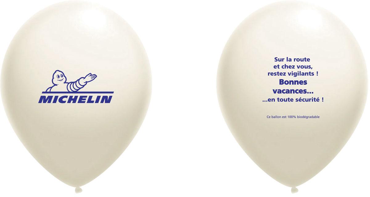 Ballon publicitaire - Michelin