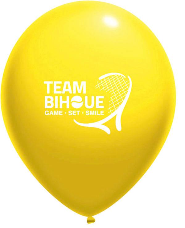 Ballon jaune - panachage par 100