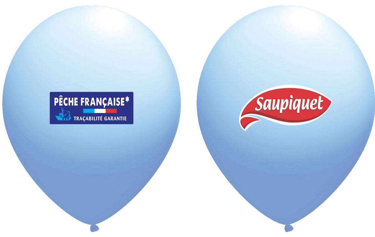 Ballon Saupiquet Bleu clair