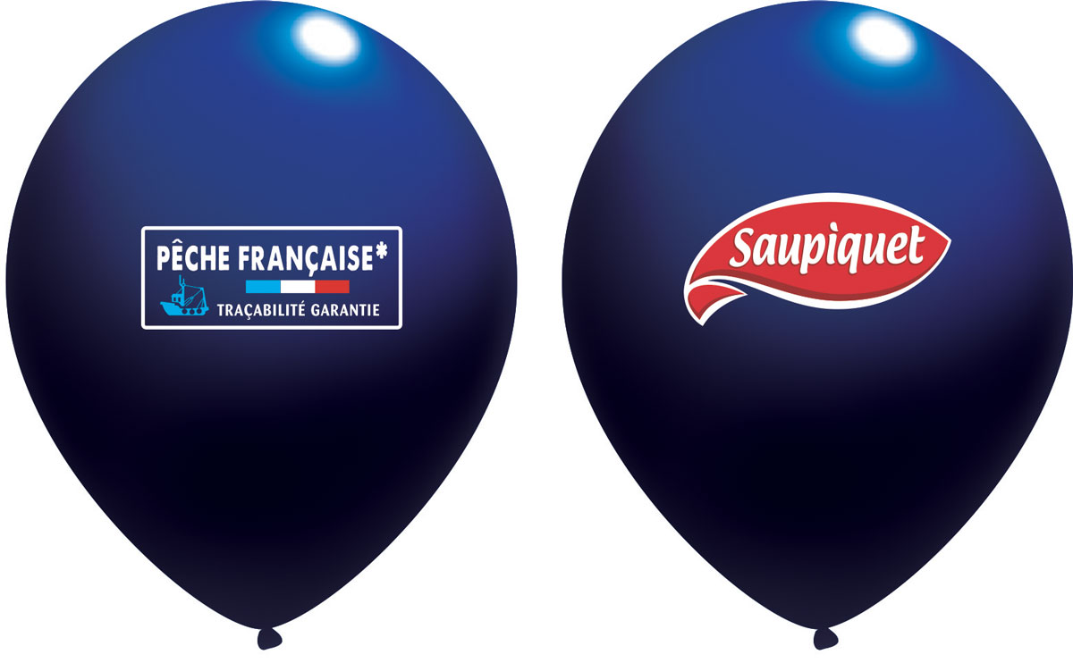 Ballon Saupiquet Bleu Fonce
