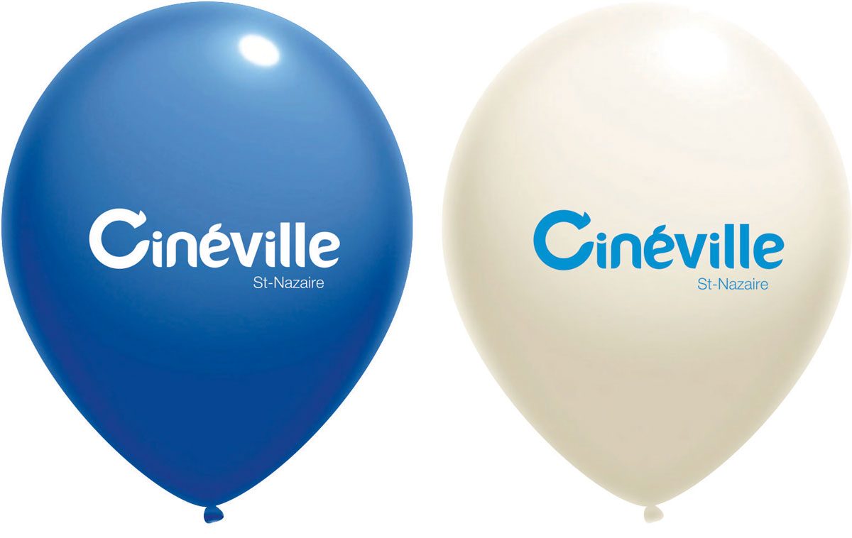 ballon impression logo cineville