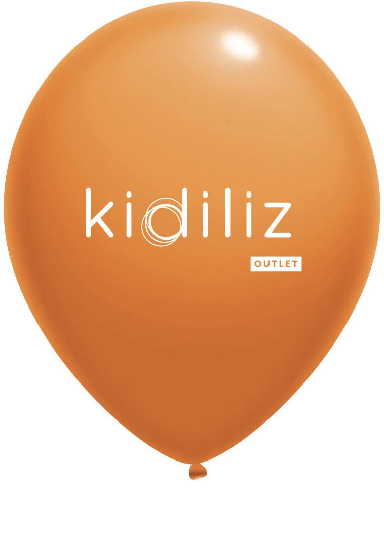 Ballon gonflable avec logo Kidiliz