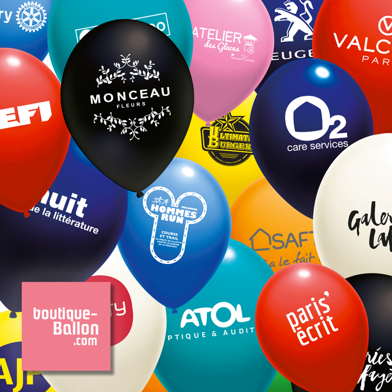 Ballon de baudruche publicitaire