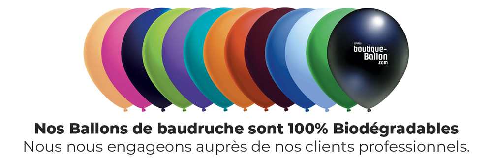 Ballon de Baudruche 100% Biodégradable