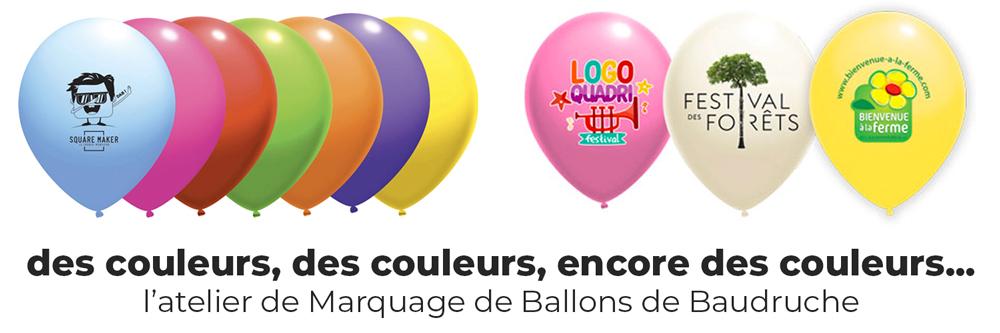 Atelier de Marquage de Ballons de baudruche