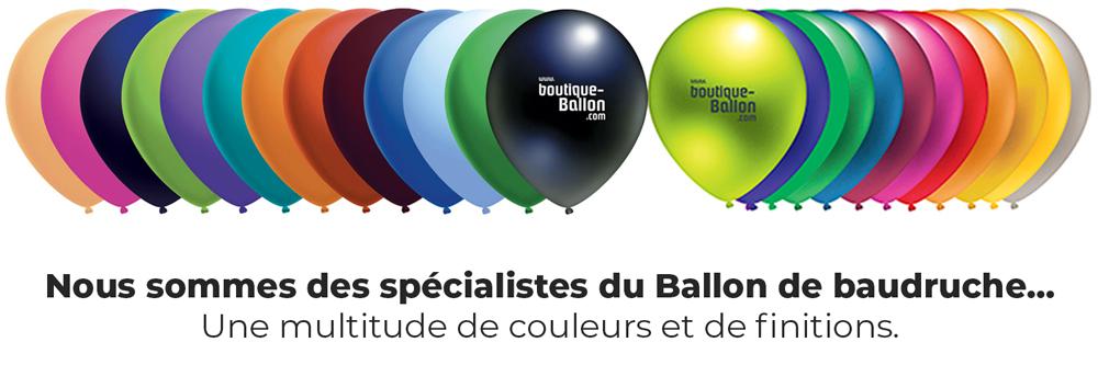 Ballon de Baudruche - une multitude de couleurs
