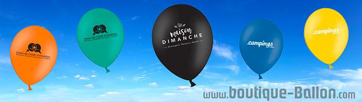 ballon baudruche publicitaire