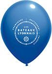 ballon de baudruche bleu