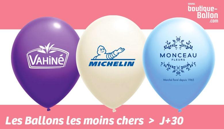 N°1 sur les Prix - Ballons de Baudruche - 100% BIO - Livraison Gratuite à partir de 200€ HT - Maquette Graphique Offerte !