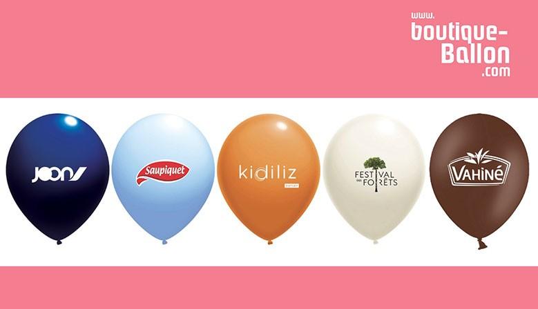 Ballons de baudruche pas chers - exemple de réalisation - livraison Gratuite - Délai Express 10 jours