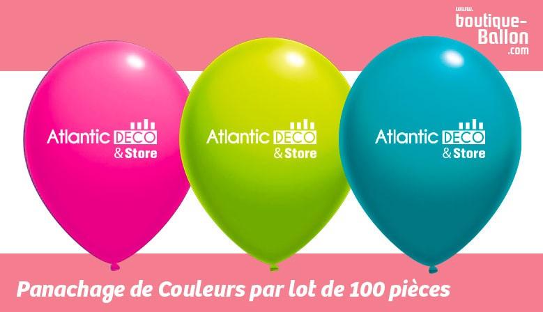 N°1 sur les Ballons de baudruche - Panachage de Couleur Gratuit - Livraison Offerte dans toute la France à partir de 100€ HT !