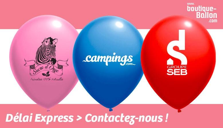 Vos ballons publicitaire - commande en moins de 10 jours !