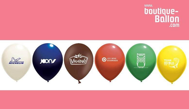 Ballons de baudruche personnalisés Livraison Offerte - les prix les plus bas du marché !