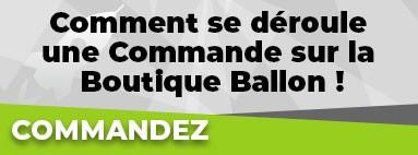 Comment se déroule une Commande sur le Boutique Ballon ?